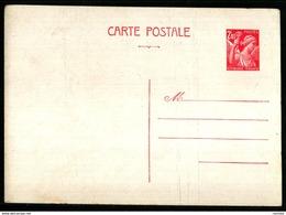ENTIER POSTAL IRIS 654 - CP1 - COTE 25€ - 1921-1960: Modern Tijdperk