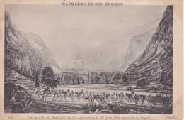 CPA - Napoléon Et Son Epoque - Vue Du Fort Du Bard Pris Sur Les Autrichiens Le 1er Juin 1800, Aquarelle De Bagelli - History