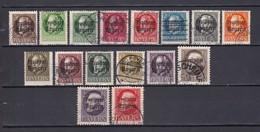 Bayern - 1919 - Michel Nr. 152/167 A - Postfrisch/Gest. - 107 Euro - Bayern