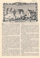 456 Dresden  Hermanische Museum Artikel Mit 5 Bildern 1902 !! - Other