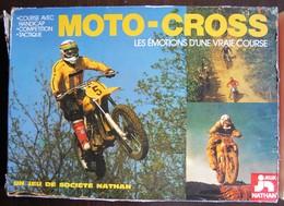 JEU DE SOCIETE - Motocross - Edition Nathan 1977 - Autres