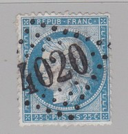 GC 4020 Trévière ( Dep 13 ) S / N° 60 - 1849-1876: Periodo Classico