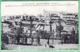 MONTFAUCON - VUE GENERALE - Francia