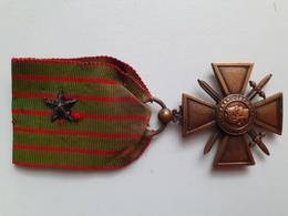 Croix De Guerre 1914-1915 - France