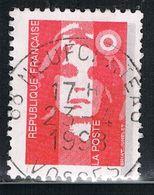 """FRANCE : N° 2806 Oblitéré """"TàD Rond"""" (Marianne Du Bicentenaire) - PRIX FIXE - - 1989-96 Maríanne Du Bicentenaire"""