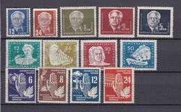 DDR - 1950/52 - Sammlung - Gest./Ungebr. - Gebraucht