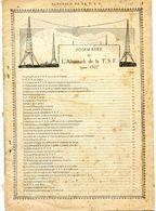 Almanach De La T S F Pour 1927 - Manque La Couverture - 96 Pages Tres Documentées Nombreuses Photo - Voir Sommaire - Audio-Visual