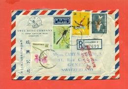 SINGAPORE- LOTTO  5 CARTOLINE+ 1 BUSTA LOTTI E COLLEZIONI   STORIA POSTALE - Singapore (1959-...)