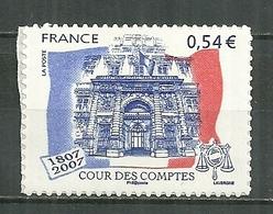 FRANCE MNH ** Adhésif Autocollant  117 (4028A) Cour Des Comptes Palais Cambon Paris - France