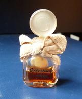 Miniature De Parfum -  Cabochard De Grès - Noeud En Velours   GM  Hauteur  52 Mm (tout En Verre) Réf, P 06 - Unclassified