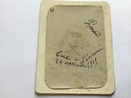 Photo D'un Poilu Du 129°RI Tué à Neuville Saint Waast Septembre 1915 1914-18 - 1914-18