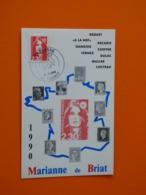 1er Jour - N°2614 - Marianne Du Bicentenaire - Valence - 31/12/1989 - FDC