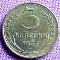 RUSSIA : 3 KOPEKS  1957 Y 121 - Rusland