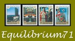 PA178/181** 25e Anniversaire Des Nations Unies / 25e Verjaadag Van De Verenigde Naties - BURUNDI - Burundi