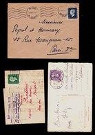 France 7 Lettres Affr. Marianne De Dulac Seul (au Tarif 1945)  TTB Qualité - 1921-1960: Modern Period