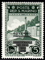 Saint Marin Sant Marino  Neuf Sans Charnière N° Yvert  256  Scott 237 - Unused Stamps