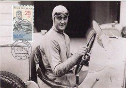 Louis Chiron (F) -  1899-1979  -  Pilote De Grand Prix  - Carte Maxi Czech - Cars