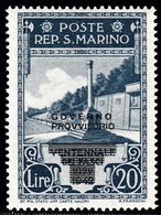 Saint Marin Sant Marino  Neuf Sans Charnière N° Yvert  257  Scott 238 - Unused Stamps