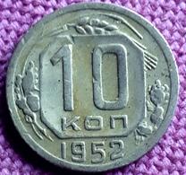 RUSSIA : 10 KOPEKS  1952 Y 116 - Rusland