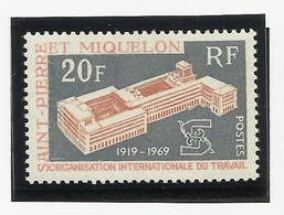 SAINT PIERRE ET MIQUELON SPM N° 398 ** Neuf 1969 - Neufs