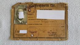 Waffenschein 1939 - 1939-45