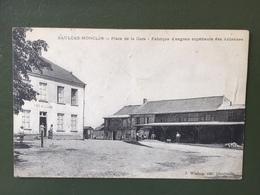 SAULCES-MONCLIN- Place De La Gare-Fabrique D'engrais Supérieurs Des Ardennes - France