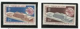 SAINT PIERRE ET MIQUELON SPM N° 399 Et 400 * Neufs 1970 - Neufs