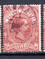 1884 - REGNO - Catg. Unif. PP3 - USED - (ITA3152A.22) - 1861-78 Vittorio Emanuele II