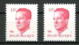 BE   2202 - 2202P5B  XX   --    Les Deux Papiers  --   Excellent état. - 1981-1990 Velghe