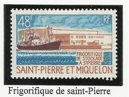 SAINT PIERRE ET MIQUELON SPM N° 406 ** Neuf 1970 Bateau De Pêche - Neufs