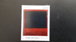 "France Timbre NEUF - ""Série Artistique. Personnalité Mark Rothko"" - N° 5030 Année 2016 - Francia"