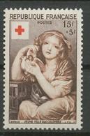 FRANCE - 1954 - Nr 1007 - Croix Rouge - NEUF - Ungebraucht