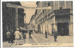 Modena - Via Emilia. - Modena