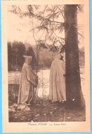 Abbaye D'Orval-(Florenville)-Les Etangs Noirs-Moines-Vendu Au Profit De La Reconstruction De L'Abbaye-+/-1930 - Florenville
