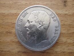 5 Francs Belgique Léopold II 1869 - 09. 5 Francs