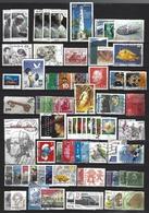 MONDE - Lot De 74 Timbres Oblitérés - Nelle Calédonie, Vatican, Wallis Et Futuna, Belgique, Etc... - Timbres
