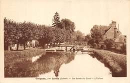 CPA 45 GRIGNON PAR LORRIS LES BORDS DU CANAL L ECLUSE - Autres Communes