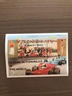 """Foglietto Dominica 1983 NUOVO Serie """"Classic Motor Cars"""" Ferrari F1 1975 - Automovilismo"""