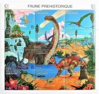 Gabon 1995**Mi.1198-09. Prehistoric Fauna , MNH [7II;95] - Briefmarken