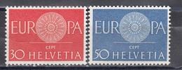 Switzerland 1960 - EUROPA CEPT, Mi-Nr. 720/21, MNH** - Suisse