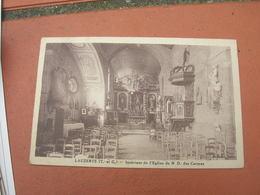 Cpa 9x14 DD V Lauzerte Interieur De L Eglise Des Carmes Bon Etat - Lauzerte