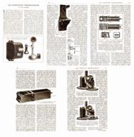 LES COMPTEURS TELEPHONIQUES    1922 - Ciencia & Tecnología