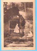 Abbaye D'Orval-Fontaine Princesse Mathilde De Toscane-Moines-vendu Au Profit De La Reconstruction De L'Abbaye +/-1930 - Florenville