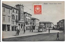 Rimini - Piazza Giulio Cesare - Tram. - Rimini