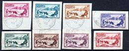 Saint Pierre Et Miquelon: Yvert N° 167/173°; 8 Valeurs Sur Fragments - Used Stamps