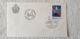 1986 Anno Internazionale Della Pale PEACE San Marino FDC S. Rsm Usato Busta Cover - FDC