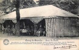 Belgique - Camp De Beverloo - Sous La Tente - Les Officiers Prennent L'apéritif - Leopoldsburg (Beverloo Camp)