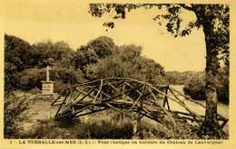 44 - LA TURBALLE SUR MER - Pont Rustique En Bordure De Château De Lauvergnac. - La Turballe