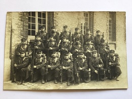 Carte Photo Chasseurs Du 1°BCP Troyes Driant Avant 1914-18 - Documents