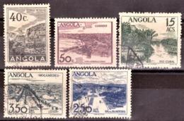 Angola 1949 -  Paisagens De Angola  - 1949 Landscapes Of Angola - Cote € 4.10 - Angola
